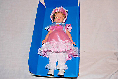 Shirley Temple, Little Colone, 13 Inch Porclain Doll By Danbury Mint, Usa.