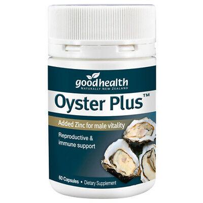 Good Health - Oyster Plus Added Zinc for male vitality - 60 Capsules
