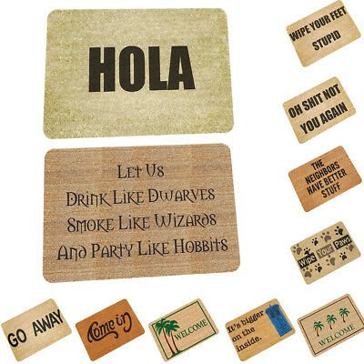 Funny Doormat Non-Slip Door Mat Area Rug Home Bedroom Kitchen Balcony Carpet