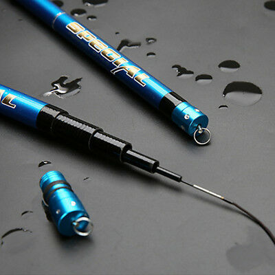 Superhard Carbon Fiber Telescopic Fishing Rod Sea Travel Spinning Pole