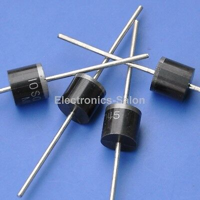 100PCS 10AMP Bypass / Blocking Diode for DIY Solar Cells Panel, 10SQ045 Schottky