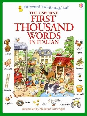 First Thousand Words in Italian (Paperback), Amery, Heather, Cartwright, Stephe.