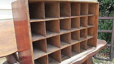 Victorian shop keepers pigeon hole cabinet