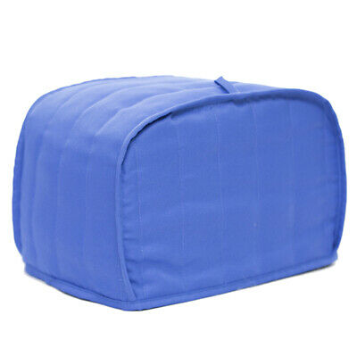 Blue Striped 2 Slice Toaster Cover Bakeware Cover Dust-Proof Kitchen Tool