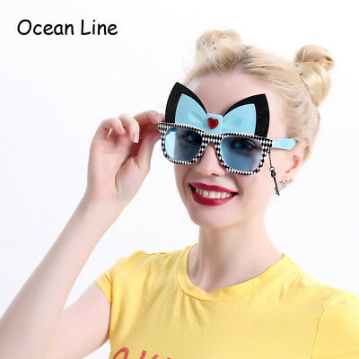 Alice In Wonderland Cheshire Cat Costume Glasses Cosplay Party Favors