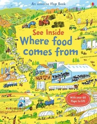 See Inside Where Food Comes from (Board book), Bone, Emily, Allen, Peter, 97814.
