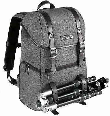 K&F Concept Digital Camera Backpack Case for Canon Nikon Sony Padded Shockproof