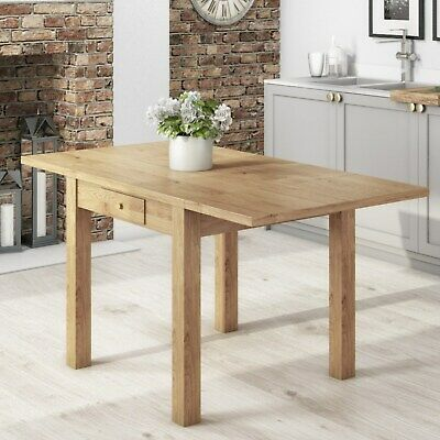 Emerson Extendable Solid Wood Drop Leaf Dining Table - Seats 4-6 EMR001