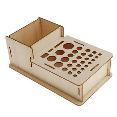 Leathercraft Stamping Tools Stand Leather Punching Tool Paint Rack Holder #1