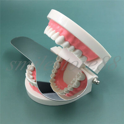 Dental Mouth Mirror Oral Stainless Steel Photographic Reflector Dental Lab