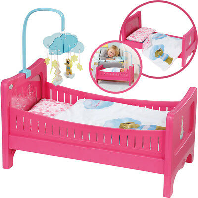 Zapf Creation Baby Born Bett mit Mobile