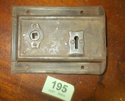 Antique Front Door Rim Lock Door Latch Locks 195