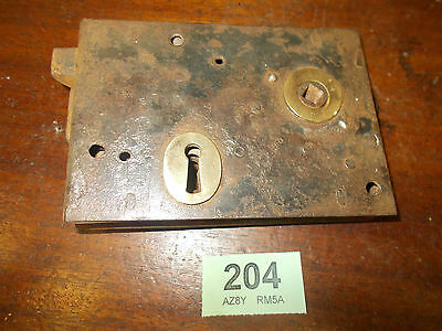 Antique Front Door Rim Lock Door Latch Locks 204