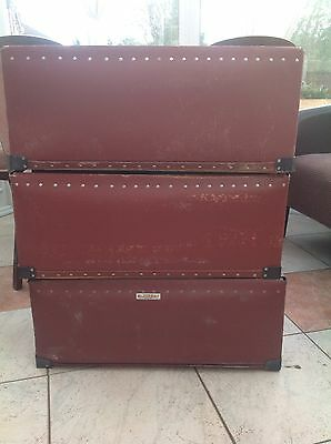 vintage storage container box /toy Box /crate