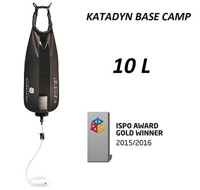 Katadyn Base Camp Pro 10 L nuevo negro Outdoor Filtro Trinkwassersystem Camping