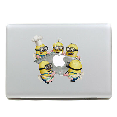 MacBook Minions Sticker Decal For MacBook Pro Air All Sizes Minions Cooking