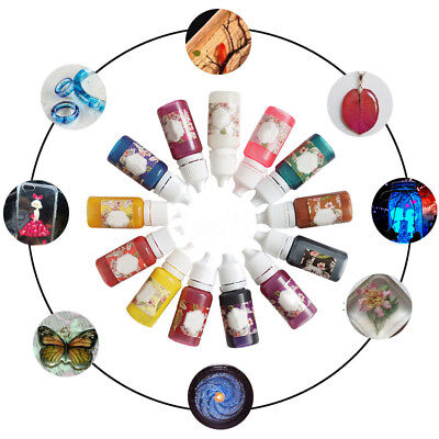 10g Epoxy Color UV Resin Coloring Dye Colorant Resin Pigment Art Craft 13 Colors