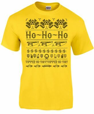 Die Hard Xmas Knit Mens T-Shirt
