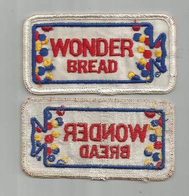 Vintage Wonder Bread Company Bakery Delivery Truck Drivers Patch Old Twill 4 In