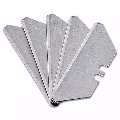 Rounded Point Utility Knife Blades refill new 5 piece in each plastic holder