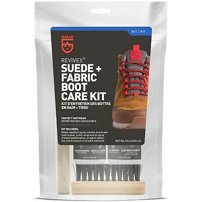 Gear Aid ReviveX Nubuck & Suede Boot Care Kit Shoe Cleaner Spray (OPEN BOX)
