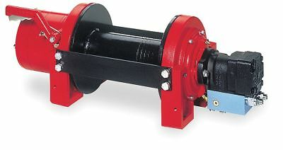 Dayton Hydraulic Winch, 15,000 lb, 1/2 In, 15 gpm - 3VJ75