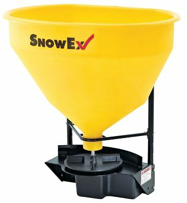 Snowex Salt Spreader, 3.0 cu. ft. Capacity, Up to 25 ft. Spread Width, 2""