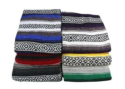 Yogavni Yogavni-Mex-Blanket-Assorted Deluxe-Extra Thick and Soft Mexican...
