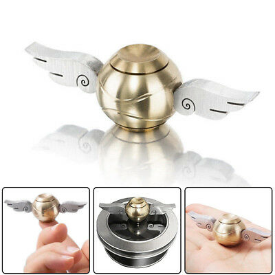 Premium Gold Snitch Fidget Spinner The Perfect Gift for Quidditch Fans