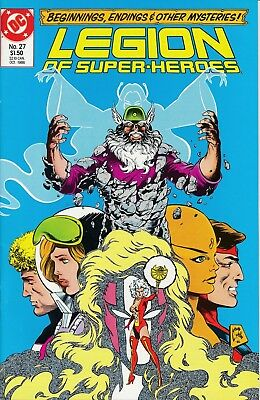 Legion of Super-Heroes (DC, 1984 series) #27 VF