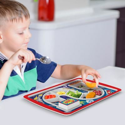 Fred Dinner Winner Children Kids Fun Board Game Lunch Dinner Tray Plate