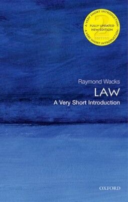 Law: A Very Short Introduction 2/e (Very Short Introductions) (Paperback), Wack.