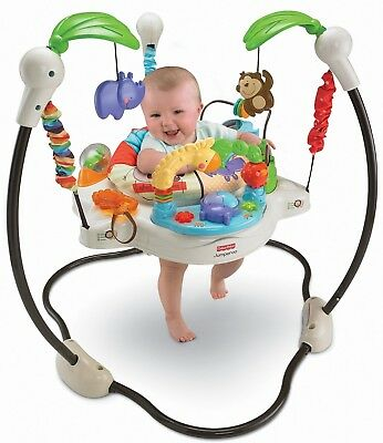 Fisher-Price Luv U Zoo Jumperoo Baby Jumper/Bouncer -- New