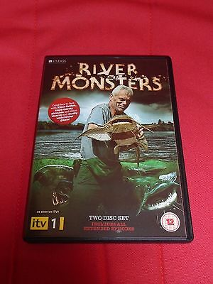 River Monsters Stagione 1 (2 Dvd) In Inglese, Come Nuovo