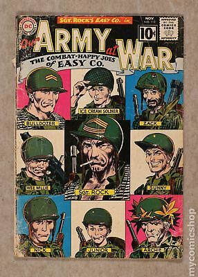 Our Army at War (1952) #112 FR/GD 1.5