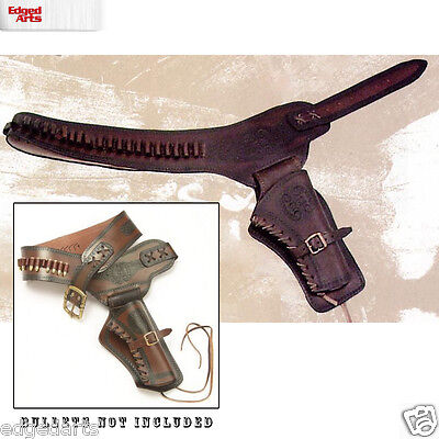 Right Draw Holster - Rig - Single - Leather for Fancy Dress, Cosplay, Theatre,