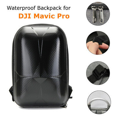 Waterproof Hard Polished Shell Carrying Backpack Bag Case PC For DJI Mavic Pro