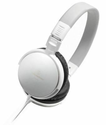 New Audio-Technica Ath-Es7 Over-Ear Headphones White Portable Dynamic Quality