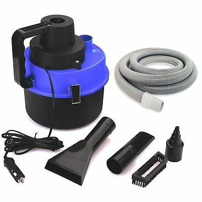 Portable Auto Vacuum Cleaner Mini Handheld Car Van Caravan Boat Vac Accessories
