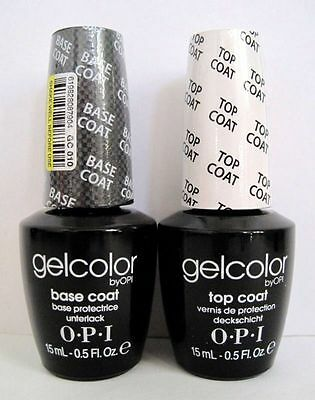 Top Coat + Base Coat vernis a ongle semi-permanent OPI GelColor