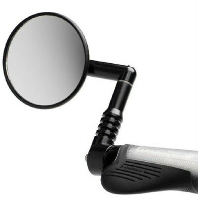 Mirrycle Mountain Mirror Wide View Bar End Mirror for Cyclists, Scooters, Etc