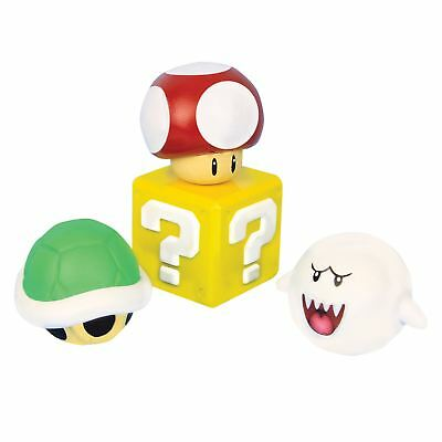 Official Super Mario Stress Balls Stress Relief Video Game Stressball