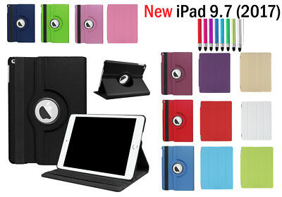 """New iPad 360 Rotating Smart Magnetic Stand Case Cover for Apple iPad 5 2017 9.7"""""""