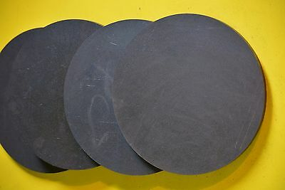 "1/4"" .250 4 PIECES SET HRO Steel Sheet Plate Disc Shaped 6""  A36, Round"