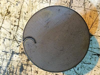 """1/4"""" .250 5 PIECES SET HRO Steel Sheet Plate Disc Shaped 2 3/8""""  Round drops"""