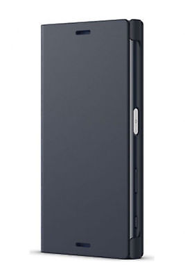 New Original SONY SCSF20 Protect Style Cover Stand for Xperia X Compact - Black