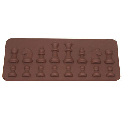 International Chess Chocolate Mold Ice Soap Cake Mould Cube Tray Tools