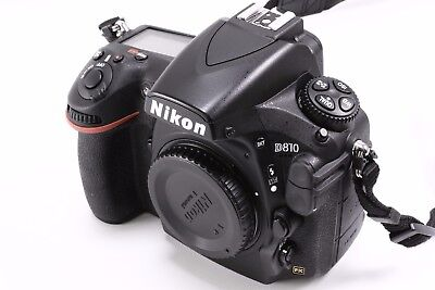 Nikon, D810 (Body Only) + FREE Shipping  SHUTTER COUNT ONLY 7831 !!