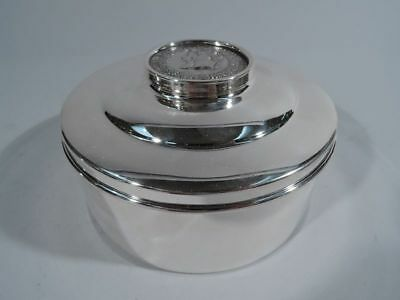 Medallion Box - Napoleon Marie Louise Marriage Medal - American Sterling Silver