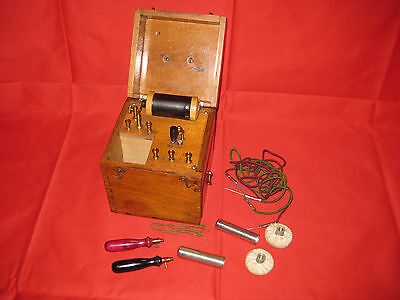 Antique Electro-Medical Instrument Therapy By K. Shall London.